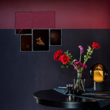 Durf kiezen voor donkere kleuren en zorg voor een karaktervolle uitstraling.