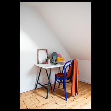 Energieke tinten in combinatie met zachte kleuren zorgen voor bruisend creativiteit