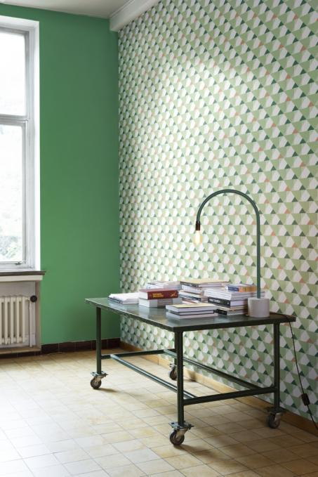 Schilder je woonkamer groen - colora.be
