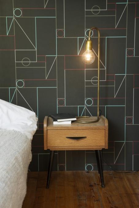 Je slaapkamer behangen