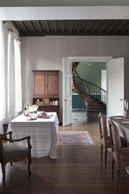 Inspiratie om je eetkamer te schilderen - colora.be