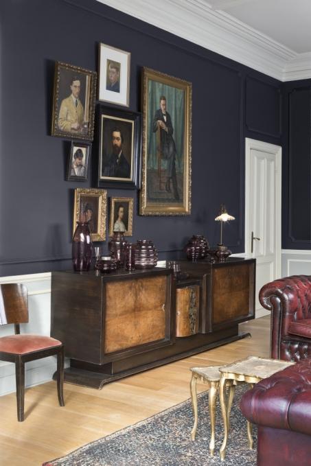 Je woonkamer schilderen in zwart en wit