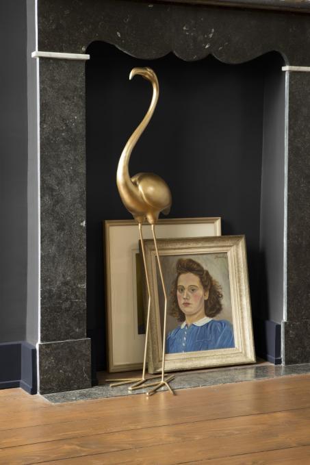 Schilder je woonkamer donkerblauw