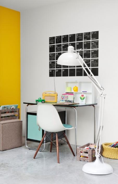 Schilder je woonkamer geel. - colora.be
