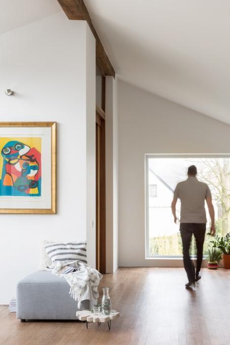 Schilder je woonkamer wit