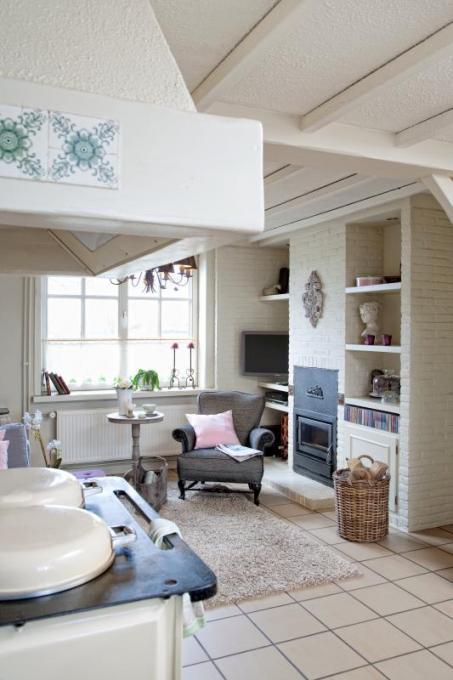 Schilder je woonkamer wit for Woonkamer schilderen