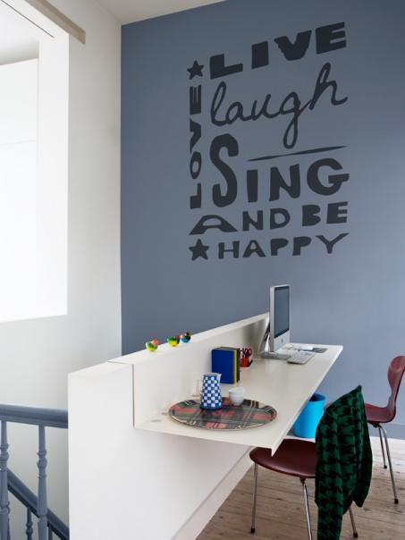 Vrolijk je muur op met onze muursticker