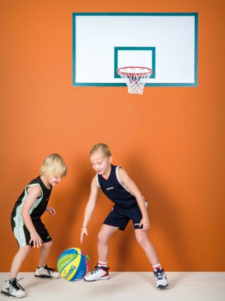Muursticker basketring