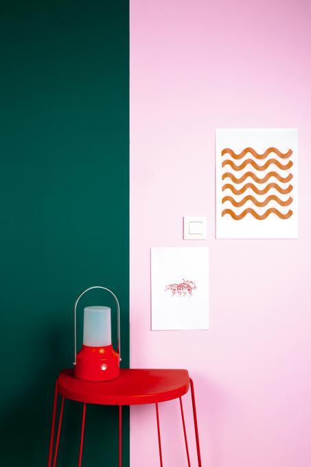 Zorg voor exentrieke kleuren in je woning.