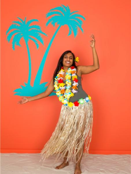 Muursticker palmboom