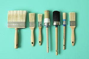 Tips bij het vinden van de juiste verfborstel