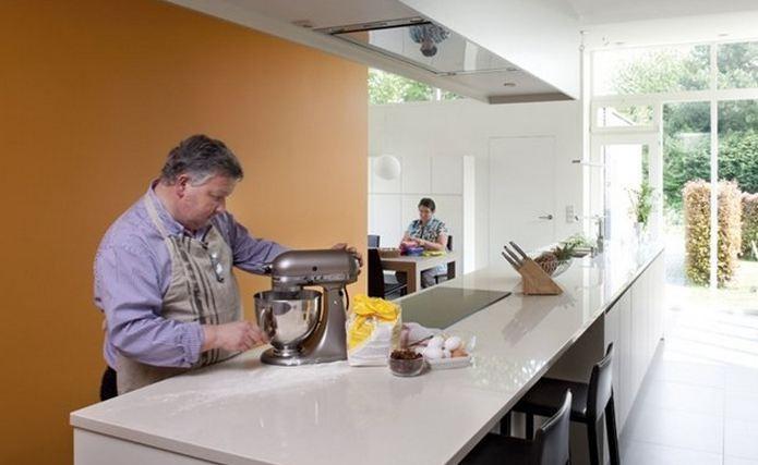 Blog de leukste idee n om je keuken te verven - Verf keuken lichtgrijs ...