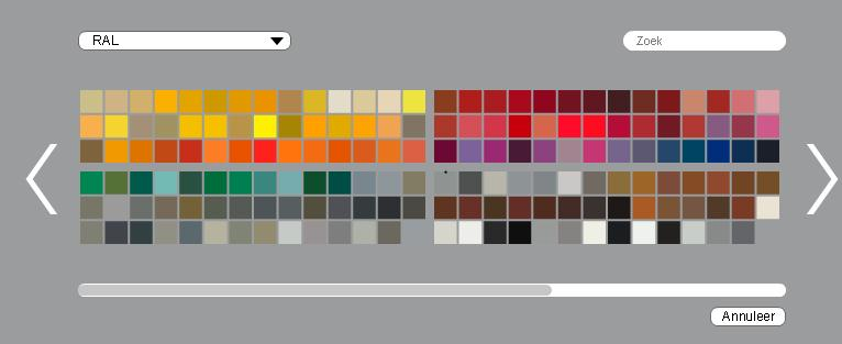 Verfkleuren kiezen wordt kinderspel met de kleurentool