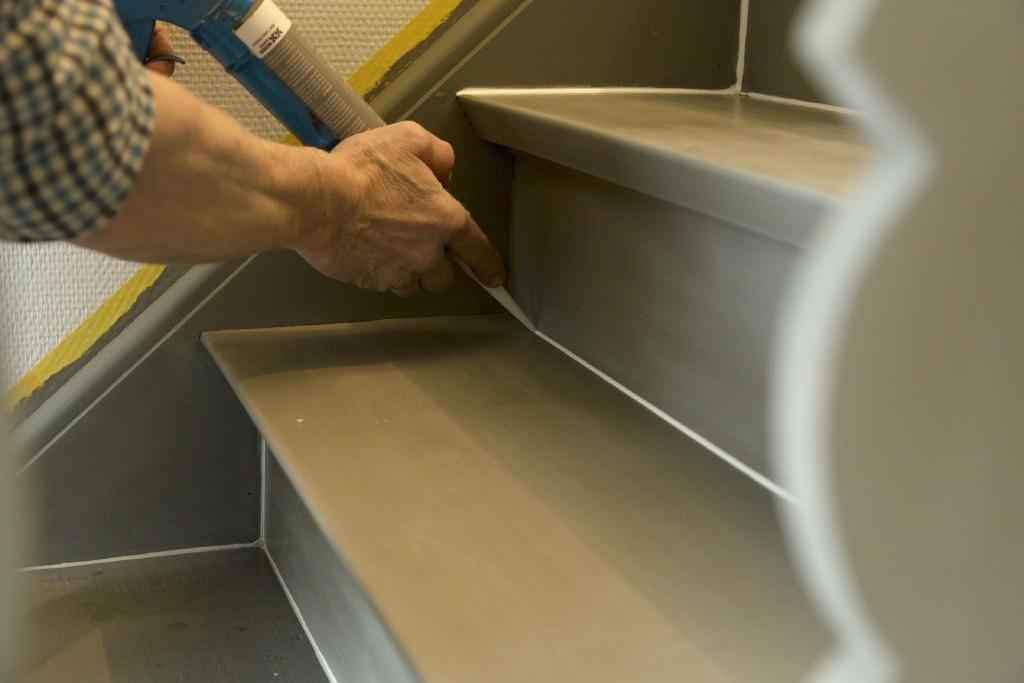 Blog je trap schilderen voor een snelle traprenovatie for Quelle peinture pour un escalier en bois exotique