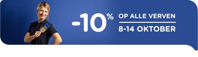 10% korting tijdens de actieweek bij colora!